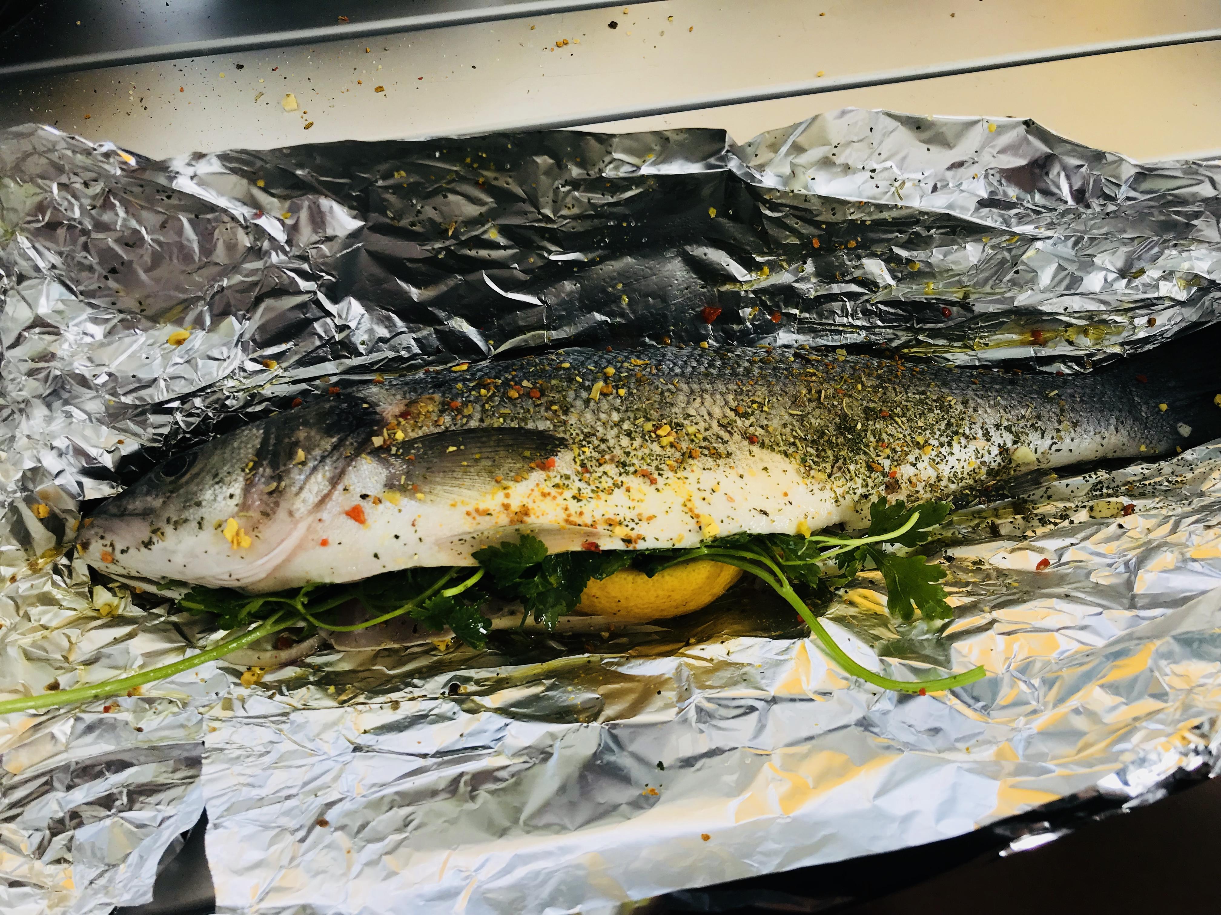 Fisch grillen!