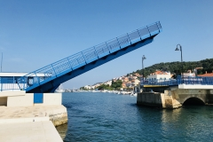 Brücke in Tisno - Muters Verbindung zum Festland