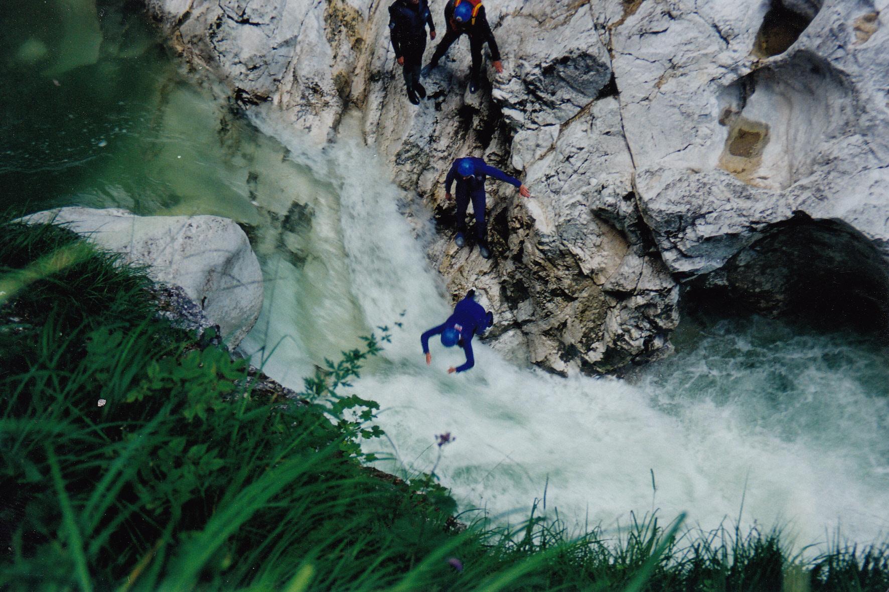Canyoning Österreich