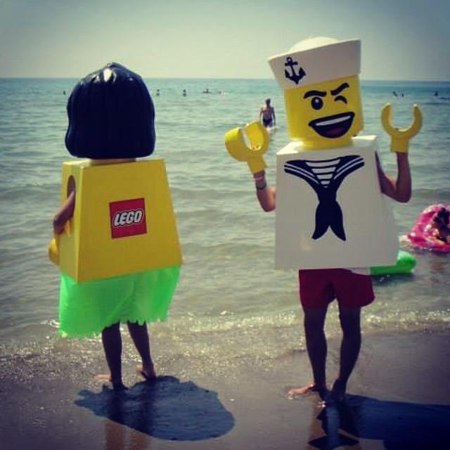 Spiel und Spaß am Meer