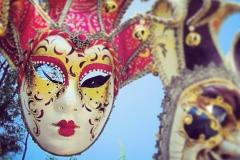 Venezianische Maskenparade