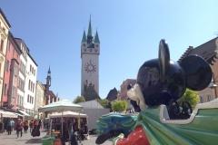 Micky Maus in Straubing