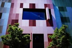 Farbige Architektur