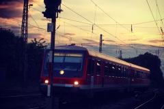 Der Zug kommt!