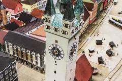 Miniatur - Stadtturm Straubing
