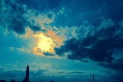 Licht im Blau