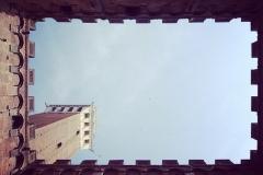 Guckloch in der Toskana