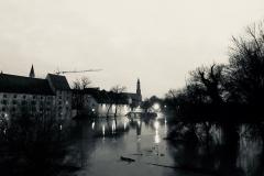 An der Donau - Herzogschloss in Straubing