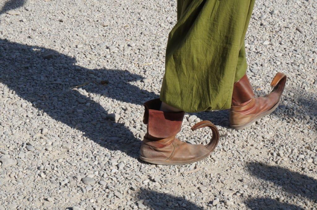 Zu Fuß liegt einem die Welt vor den Füßen